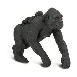 Равнинная горилла с детенышем