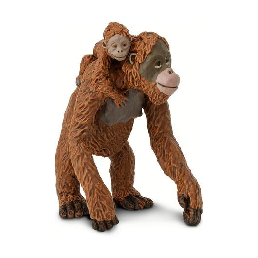 Орангутан с малышом