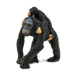 Шимпанзе с малышом