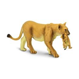Львица со львёнком