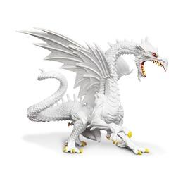 Снежный дракон, светится в темноте