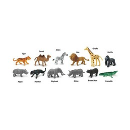 Набор Животные влажных тропических лесов